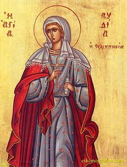 St. Lydia of Philippisia Commemorated on May 20 3