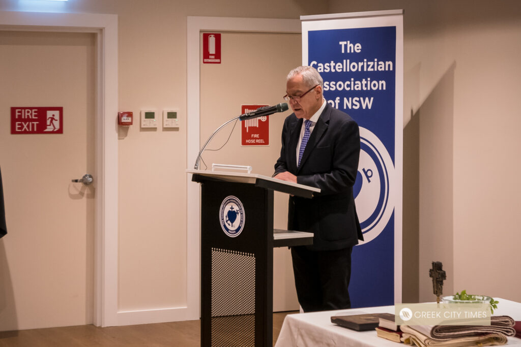 """Archbishop Makarios inaugurates the new """"home"""" of the Castellorizians in Sydney"""
