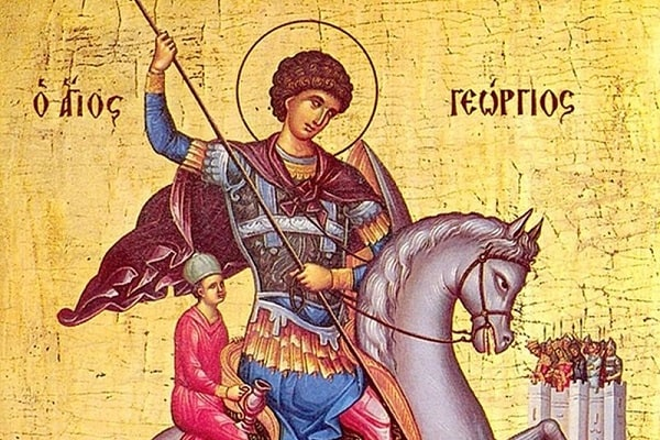 Georgios, Feast Day of Saint George, the Great Martyr and Triumphant