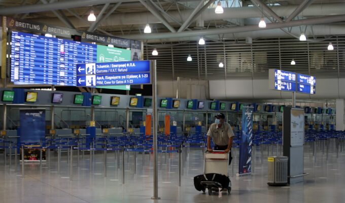 Athens airport domestic flights tourism Greece