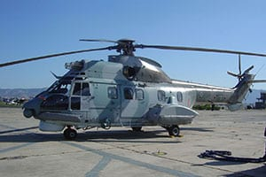 Man lost out at sea rescued by helicopter 1