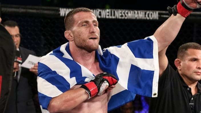 'The Spartan,' Andreas Michailidis, becomes first Greek fighter to claim UFC victory 1