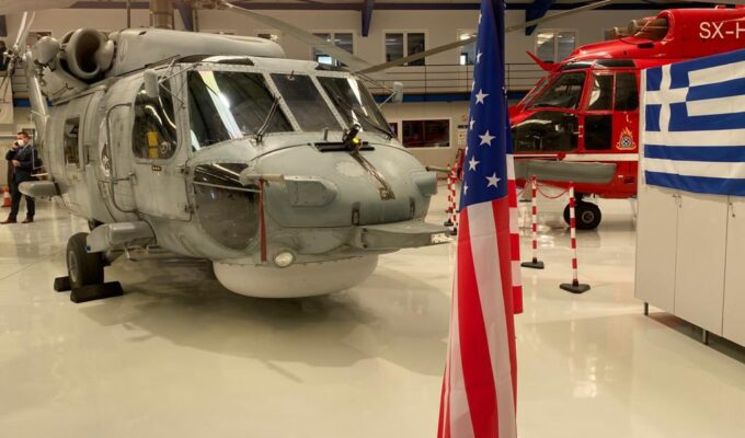 Greece receives first upgraded Aegean Hawk S-70 from US