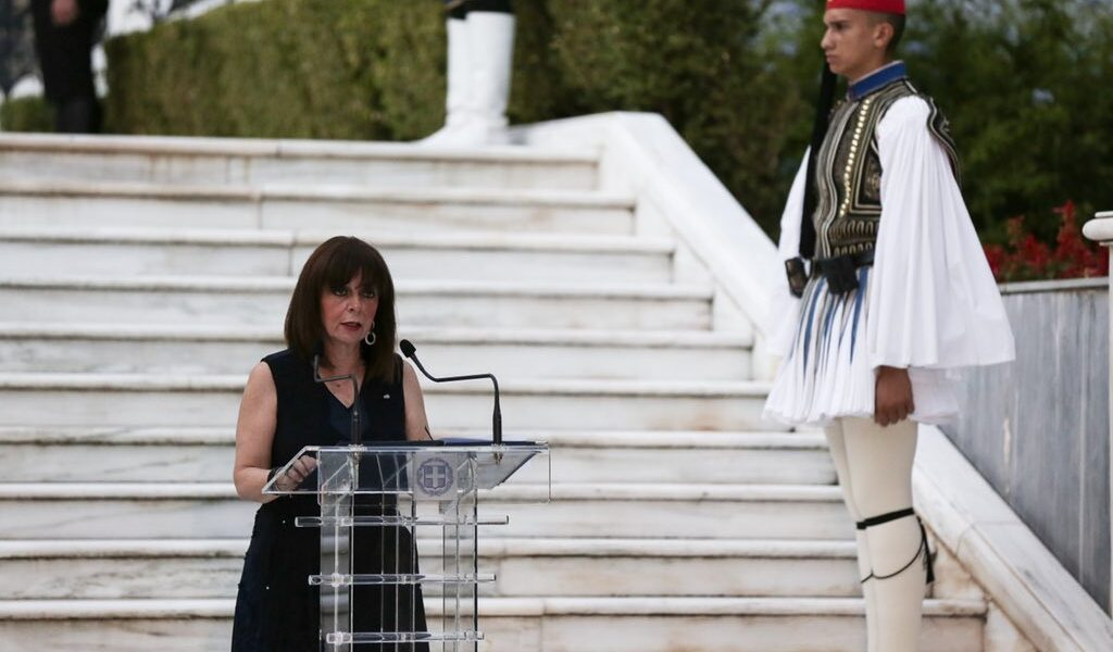 """""""Gender inequality and negative stereotypes remain strong,"""" says Greek President"""