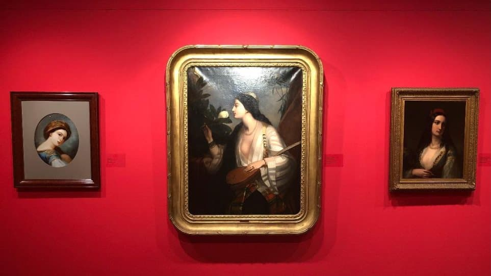 """""""The Greek of '21 in Philhellenic Art"""" exhibition in Athens"""