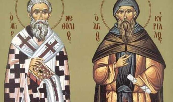 10th May we celebrate Name days of two brothers Saint Cyrillos and Methodius 4