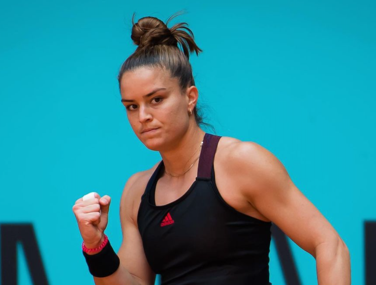 Maria Sakkari reaches Madrid Open round of 16