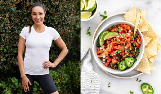 Greek Australian fitness sensation Kayla Itsines shares her favourite healthy snack