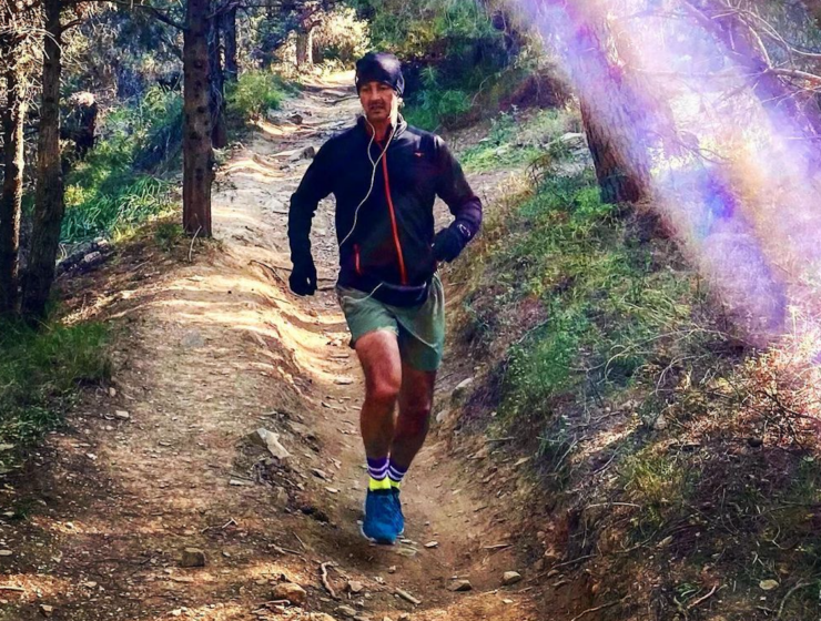 Agis Emmanouil set to run from 2,000+ miles from Greece to Glasgow