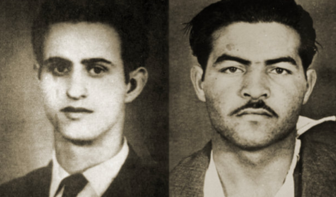 On this day in 1956, Michalakis Karaolis and Andreas Dimitriou were executed