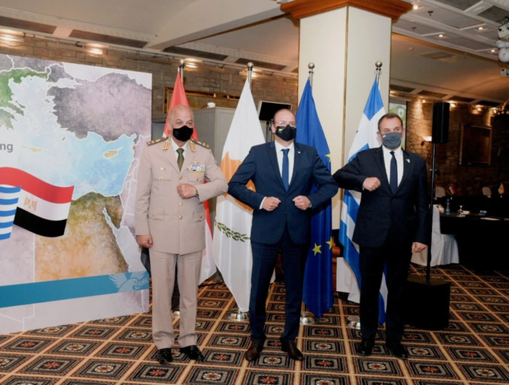 Greece, Cyprus and Egypt enhance defence cooperation