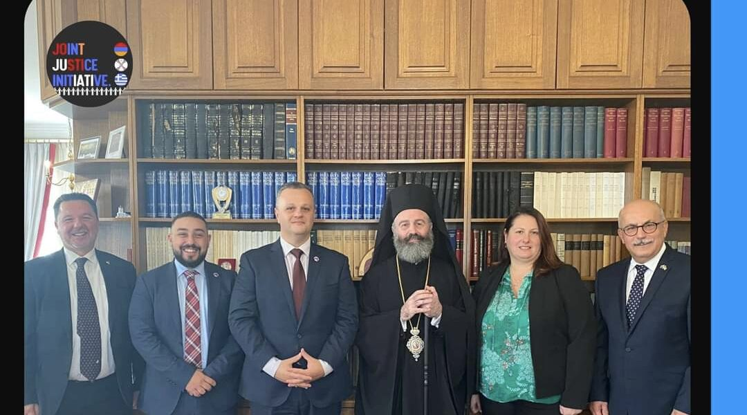 Greek Archbishop Makarios Supports Joint Justice Initiative Call for Australian Recognition of 1915 Genocides