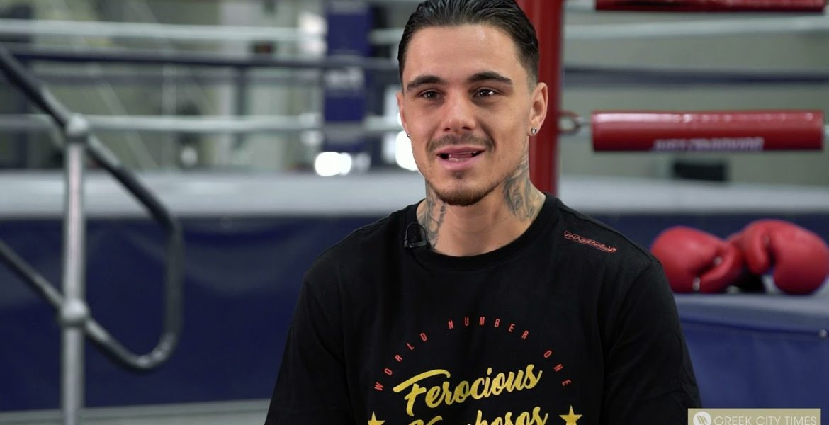 """""""We are here to make history"""". George Kambosos Jnr vs Teofimo Lopez interview. 1"""