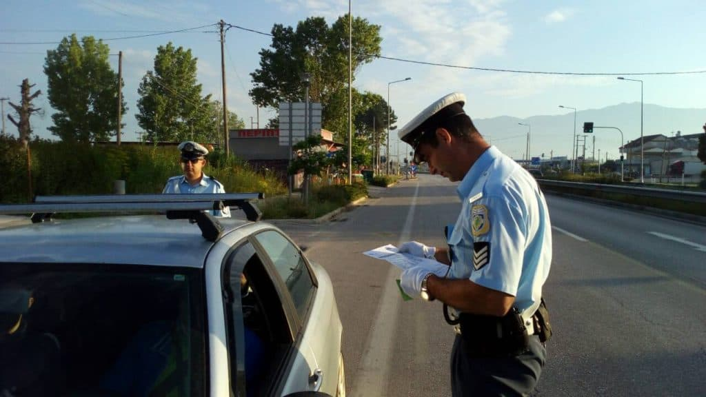 1,500 traffic violations within 24 hours in Central Macedonia! 1