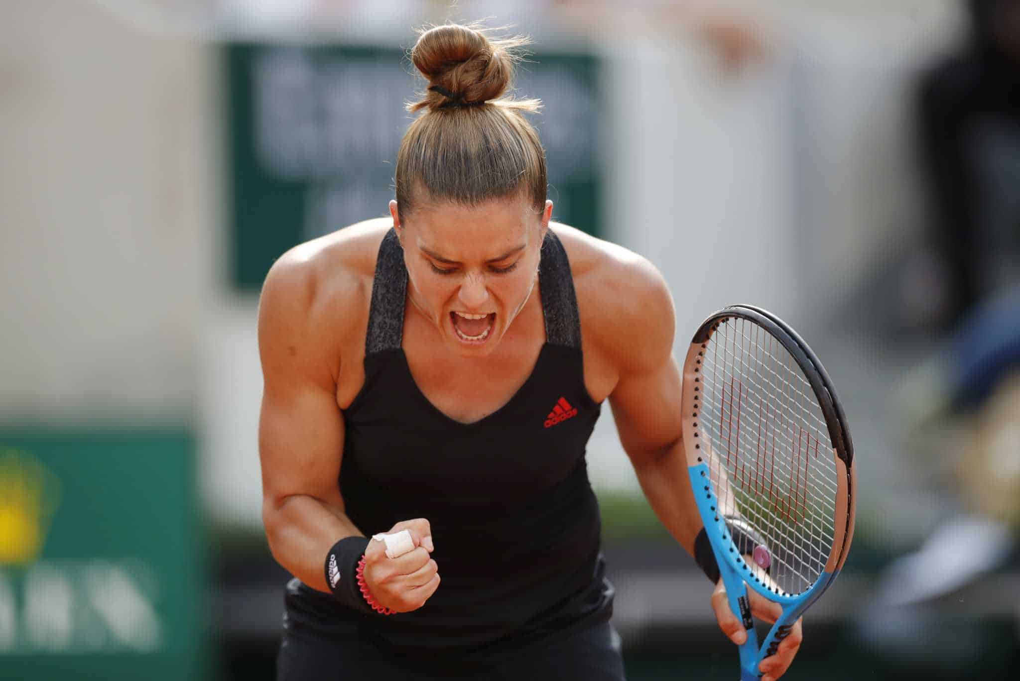 Maria Sakkari makes history, first Greek female to qualify for French Open  quarterfinals - Greek City Times
