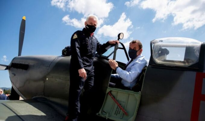 DM Panagiotopoulos: Soon the Greek Spitfire will fly in our skies again 2