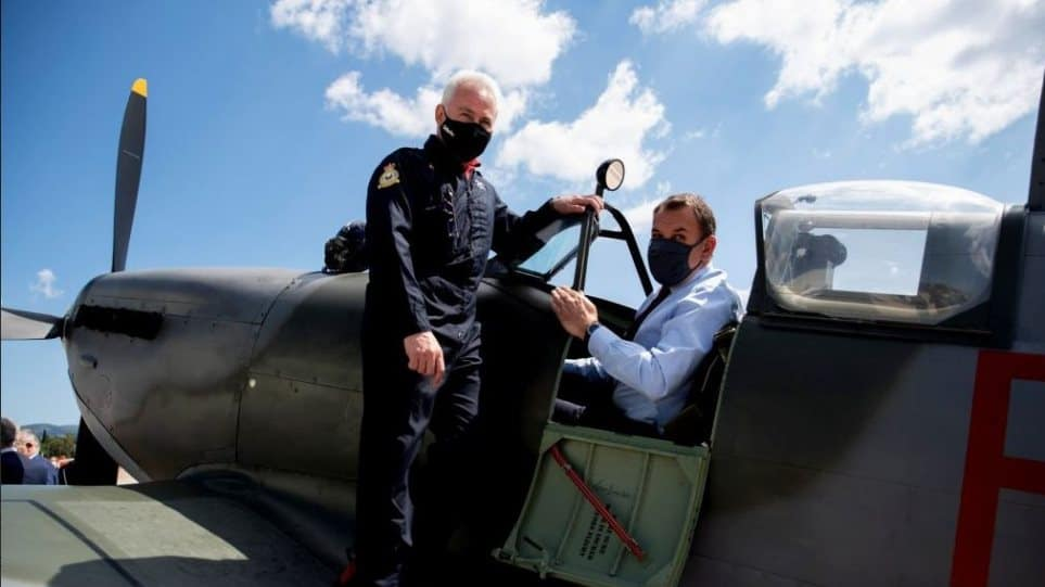 DM Panagiotopoulos: Soon the Greek Spitfire will fly in our skies again 1