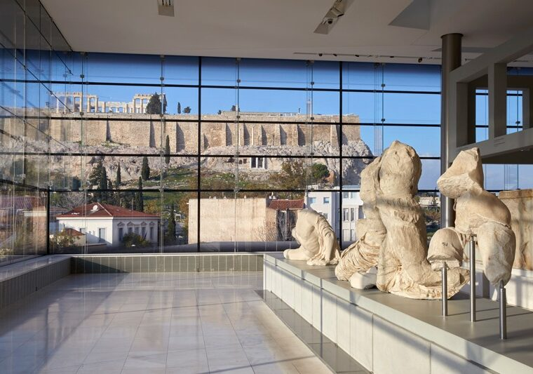 The Acropolis Museum is celebrating its 12th birthday