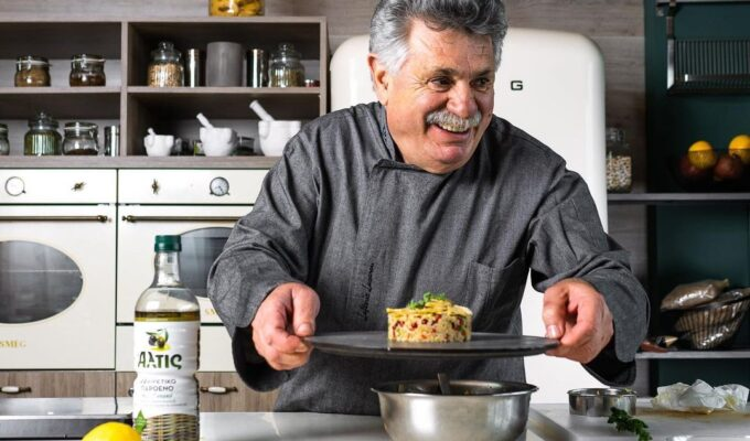 Buckingham Palace requests recipes from Greek Chef Lefteris Lazarou