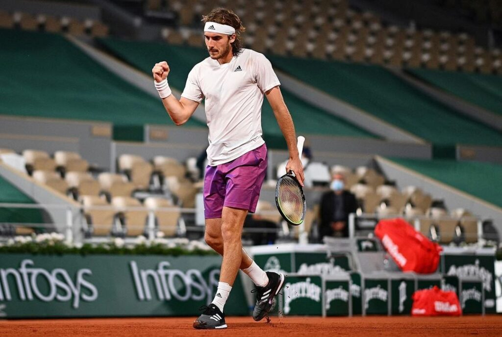 Stefanos Tsitsipas storms into French Open semifinals