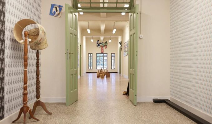 Contemporary art exhibition 'Portals | Πύλη' at the former Public Tobacco Factory in Athens