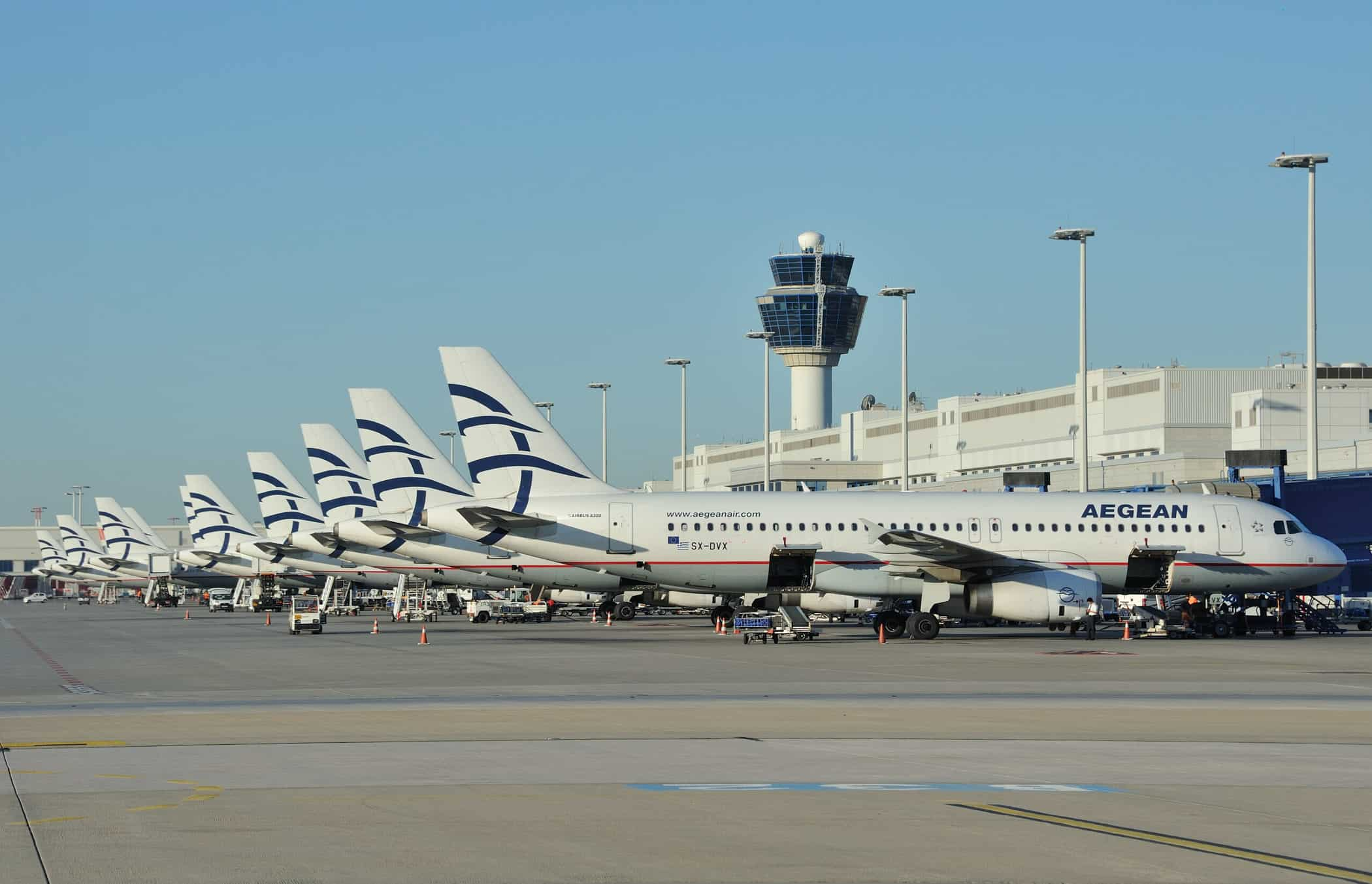aegean airlines airport athens airport greece