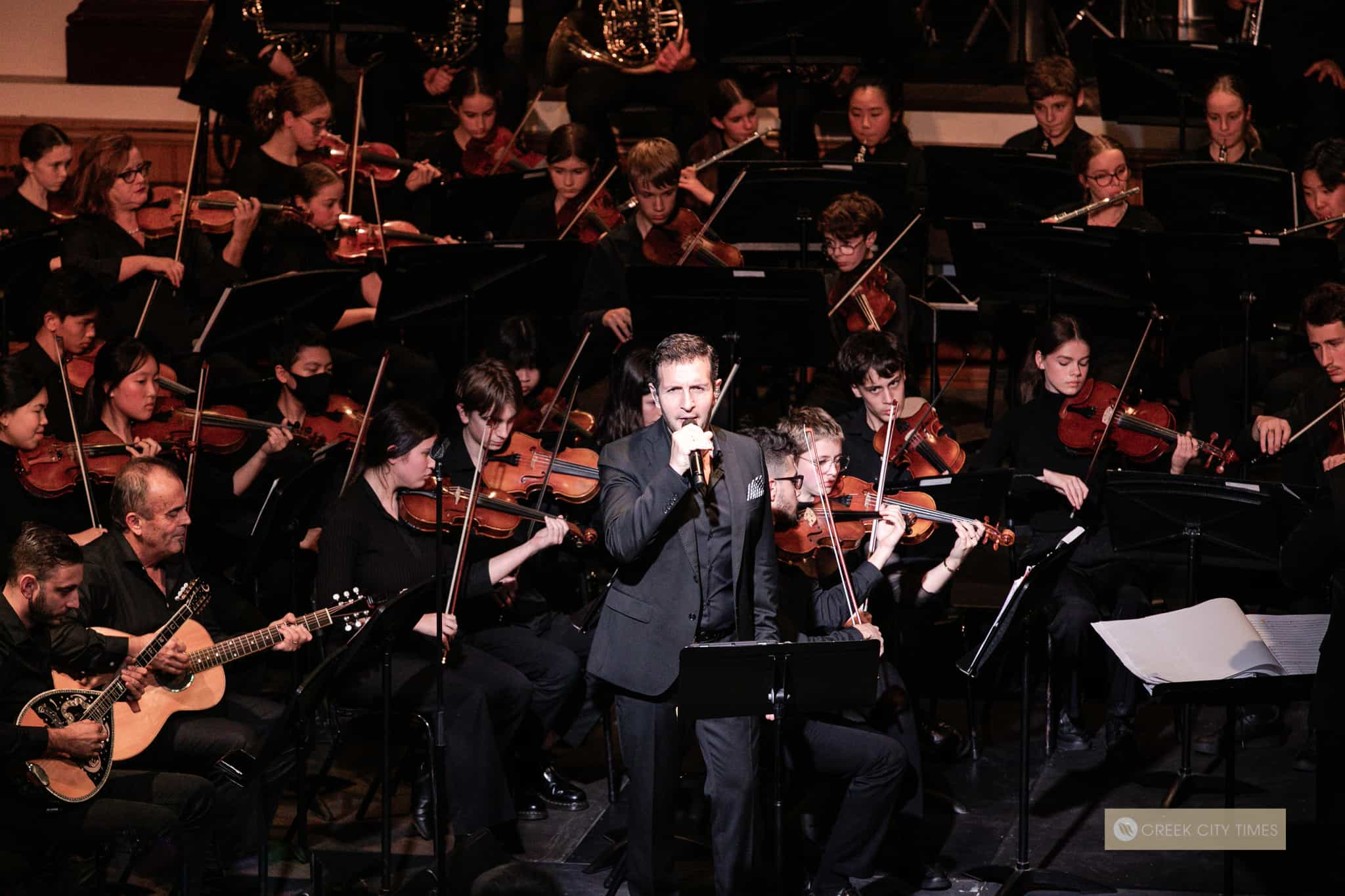 Basis Takes a Bow After Enthralling Performance with Newtown High School of the Performing Arts