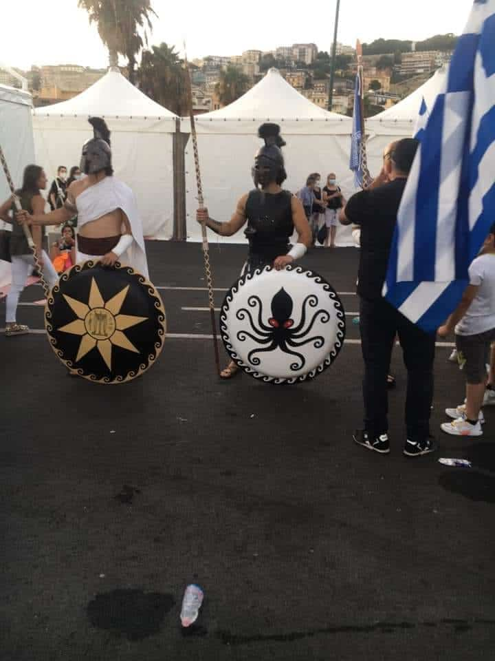 Greek history and identity on full display at the Lampadedromia in Naples 9