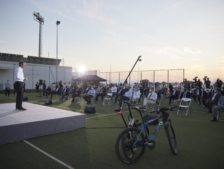 New cycling route will connect Piraeus with Sounio