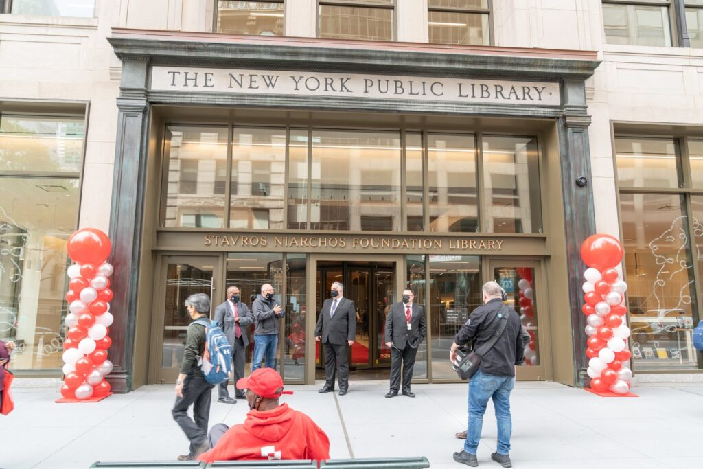 Stavros Niarchos Foundation Library opens doors in New York City