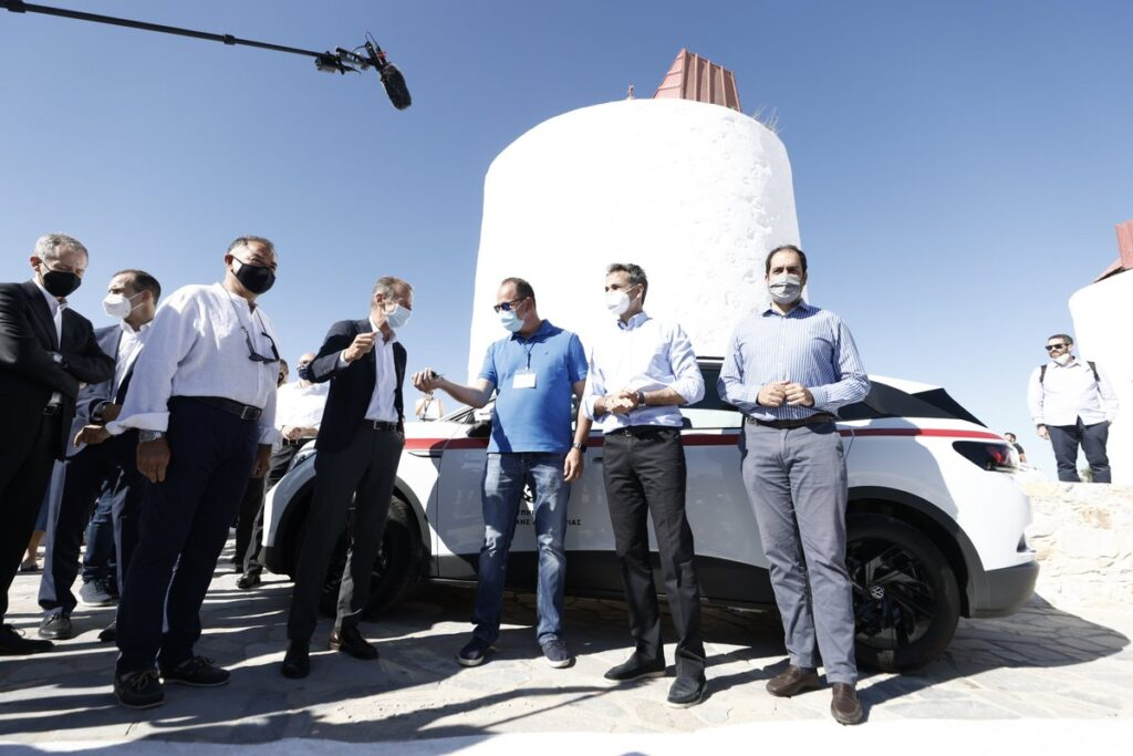 Volkswagen transforms Astypalea into 'smart and sustainable island'