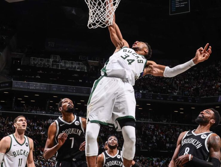 Bucks stave off Nets in thrilling OT battle to reach Eastern Conference finals 3