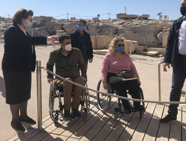 The Acropolis becomes more accessible to visitors
