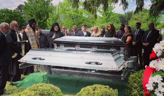 """""""One of the great Hellenes of America"""", George Korkos, laid to rest"""