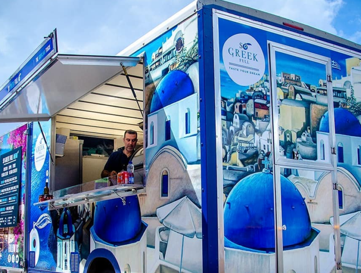 Liverpool's first & only Greek food truck 'So Greek Full'