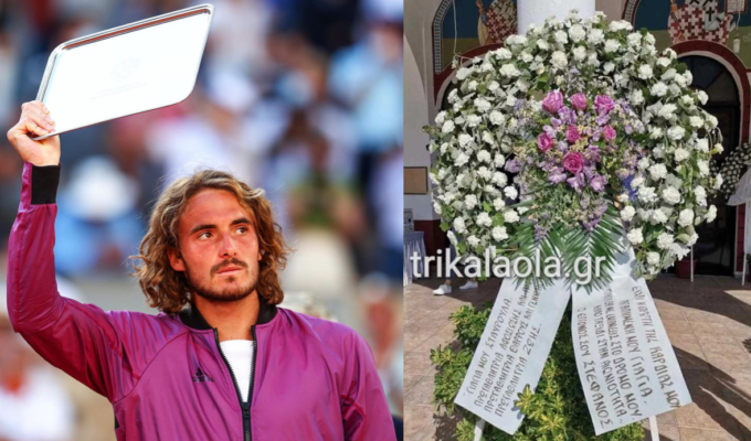 Stefanos Tsitsipas' moving message at his grandmother's funeral