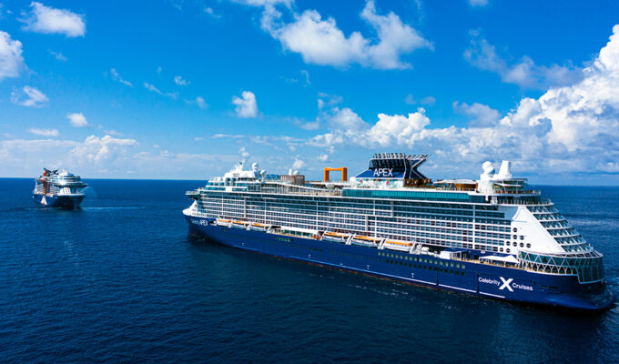 Celebrity Apex Sails from Greece with Guests Onboard 1
