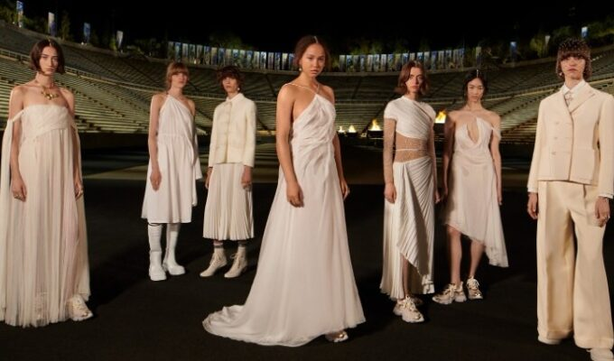 Dior dazzles in honour of the Greek Revolution 1