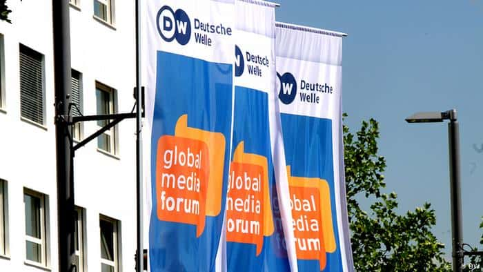 Freedom of expression has its limits, says Merkel at World Media Forum 2