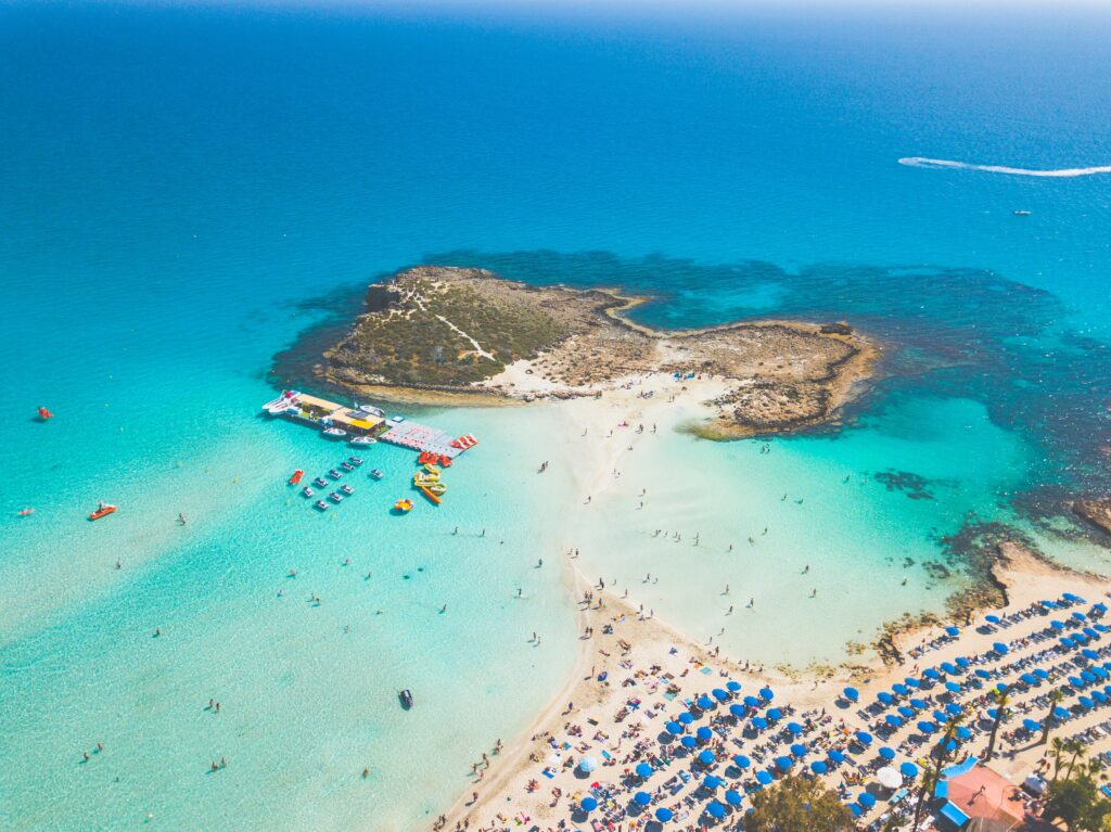 Cyprus ranked 1st in Europe for the cleanest swimming waters