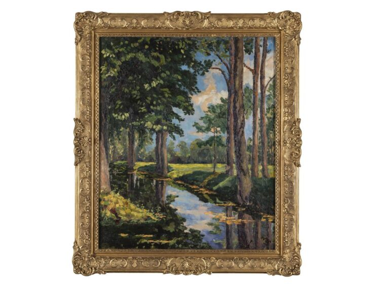 Onassis family puts painting by Winston Churchill up for auction 7
