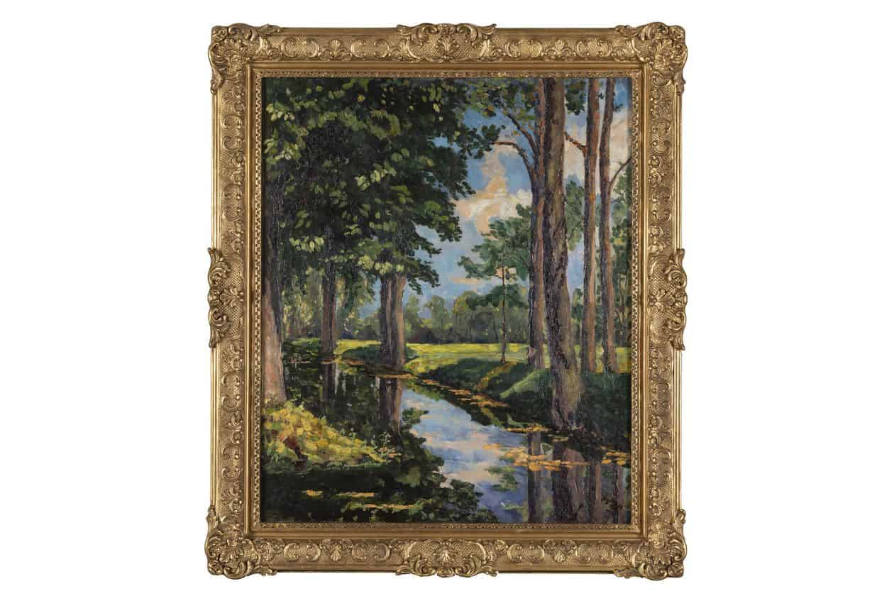 Onassis family puts painting by Winston Churchill up for auction 19