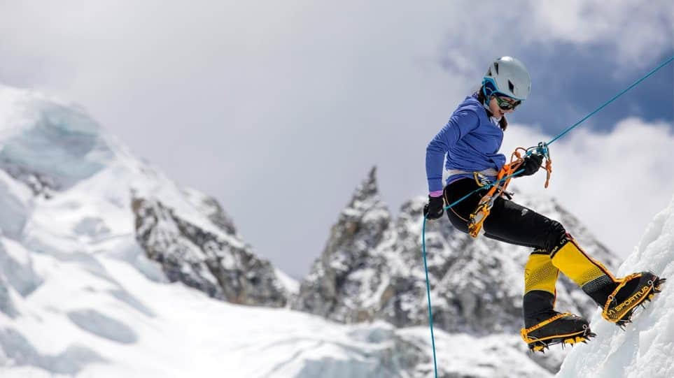 Christina Flampouri: The only Greek woman that has conquered the world's 7 highest mountain peaks 1