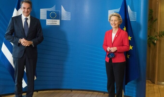 """Greek Prime Minister and EU Commission President present """"Greece 2.0"""" 1"""