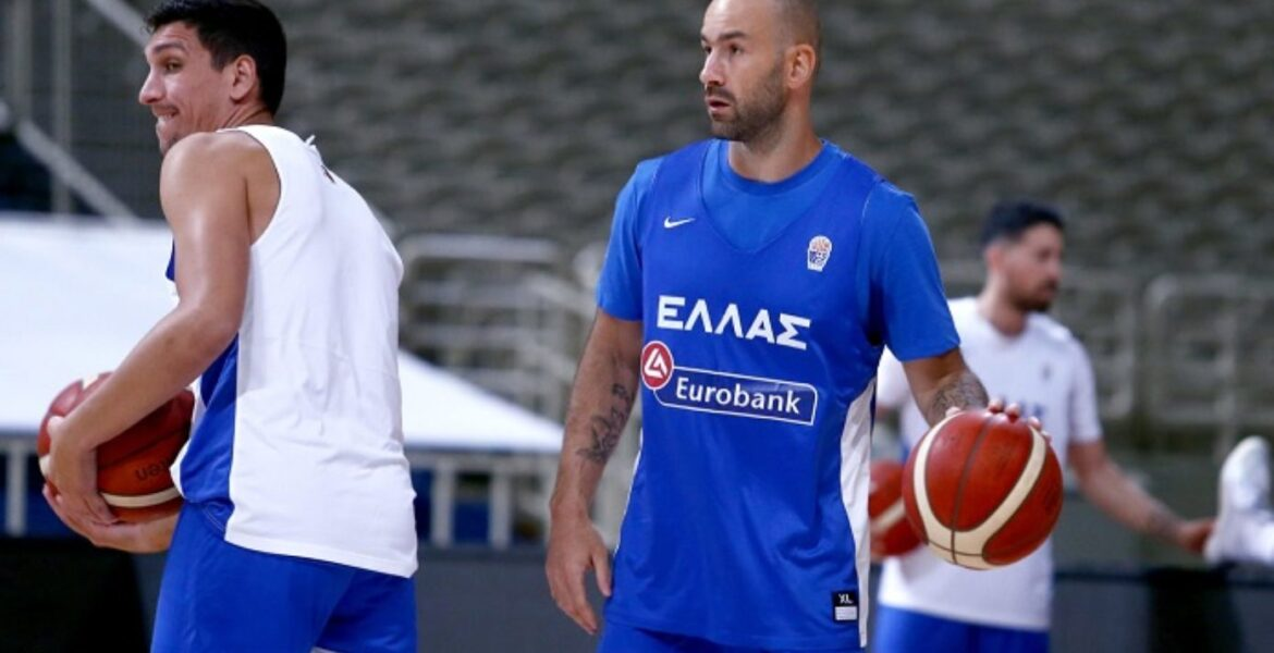 39 year old Vassilis Spanoulis returns to Greek National basketball Team to assist Greece Olympics aspirations 1