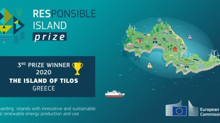 EU awards 100,000 euros prize and title of 'most responsible' island to Tilos 2