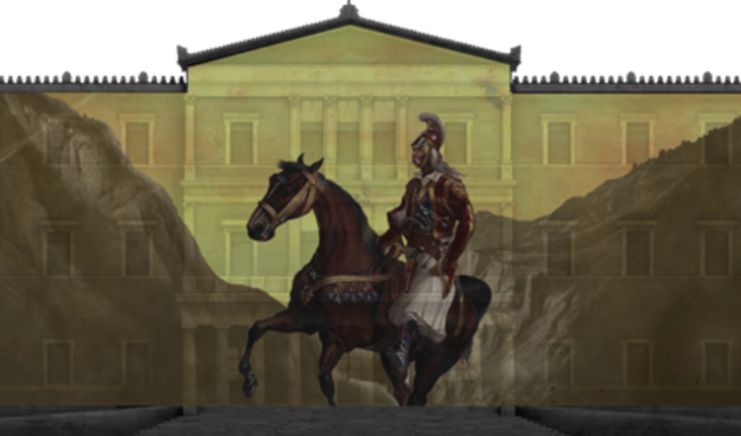 1821 Greek Revolution 'comes to life' in digital projections over key buildings across Greece 2