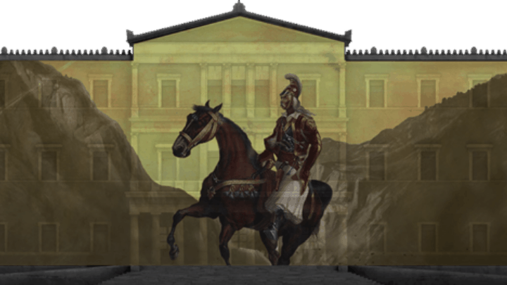 1821 Greek Revolution 'comes to life' in digital projections over key buildings across Greece 4