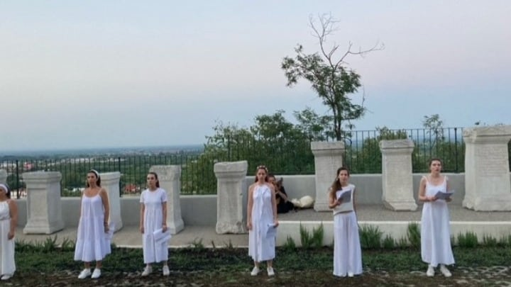 Ancient 'Wall of Memory' remembered in Veria