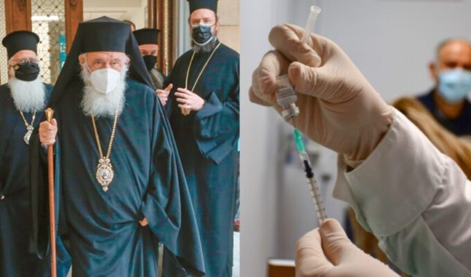 Children of the Lord...get vaccinated: Greek Church 2